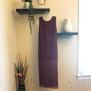 NWT Lulu's Short-Long Dress